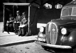 Verkeersmetingen in de jaren 40