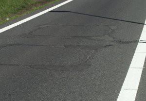 asfalt schade